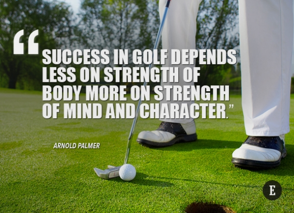Inspirational Golf Quotes Simple Golf Greats Give Inspirational Quotes To Help Your Game…  The